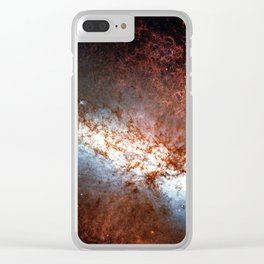 Messier 82, Cigar Galaxy or M82 in the constellation Ursa Major Clear iPhone Case