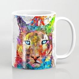 Puma Watercolor Grunge Coffee Mug