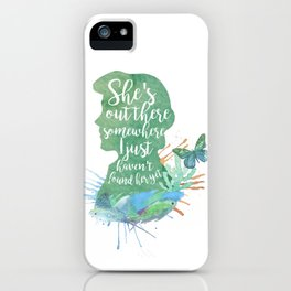 prince erik - she's somewhere out there iPhone Case