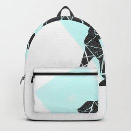 Geometic dog Backpack