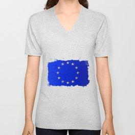 EU Flag Unisex V-Neck