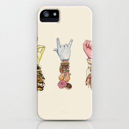 We Are What We Eat iPhone Case