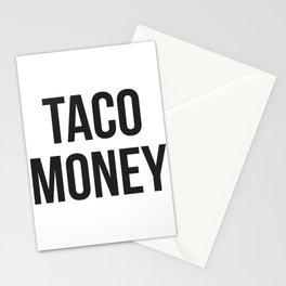 Taco Money Stationery Cards