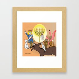 Jesus, The Light (Christian Children's Gift Products) Framed Art Print