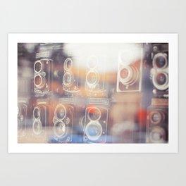 Retro Reflections Art Print