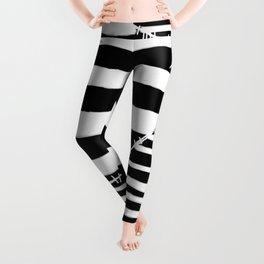 Stripes & Stitches Leggings