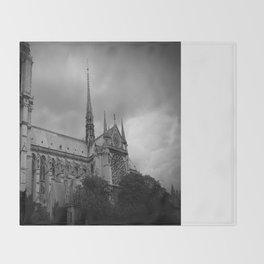 Notre-Dame Throw Blanket