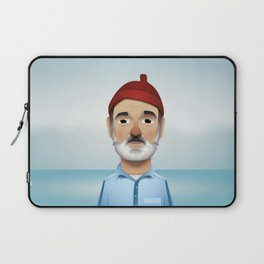 Steve Zissou The Life Aquatic Laptop Sleeve