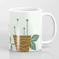 plants Mugs featuring plants by aticnomar