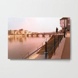 Basiléia River Metal Print