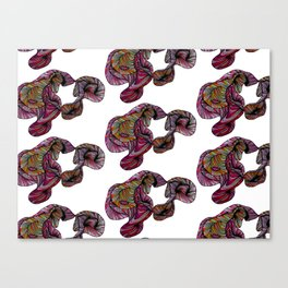 abstract poof Canvas Print