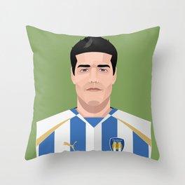 Kem Izzet - Colchester United Legends Throw Pillow