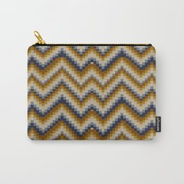 Patchwork Colours - sand Carry-All Pouch