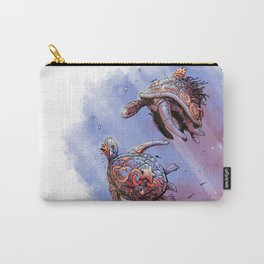 Turtle princess and prince Carry-All Pouch