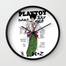 PLAYTOY - NANCY  JULY 1969 Wall Clock
