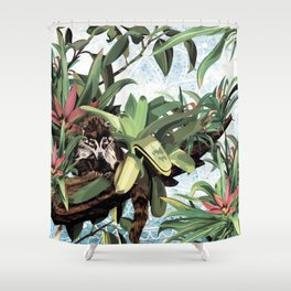 Ring tailed Coati Shower Curtain