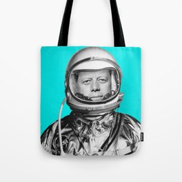 "JFK ASTRONAUT (or ""All Systems Are JFK"") Tote Bag"