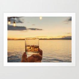 Cheers to the Sea Art Print
