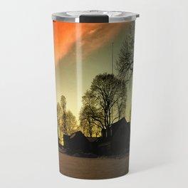 Dramatic Sunset Travel Mug