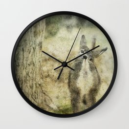 Nose to Tail Wall Clock