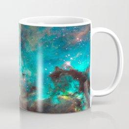 Green Galaxy Coffee Mug