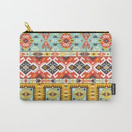 Modern Native American Pattern 4 Carry-All Pouch