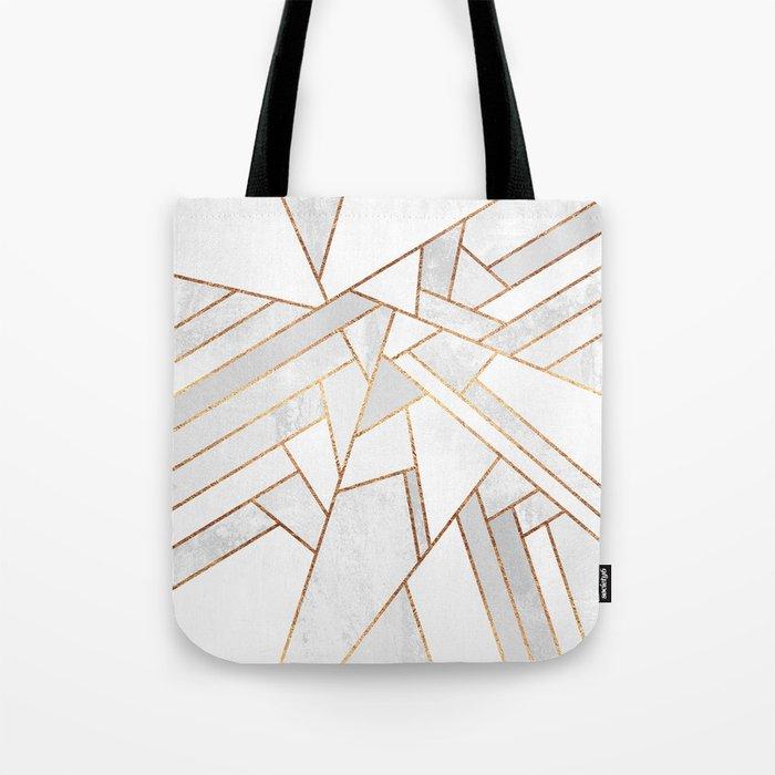 White Night Tote Bag