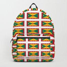 flag of grenada -grenadian,grenadines,Saint georges,grenville,Gouyave,Carriacou,nutmeg Backpack