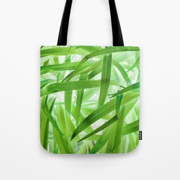 530 - Abstract Grass design Tote Bag