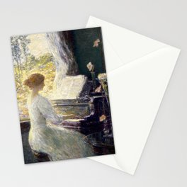 Childe Hassam - The Sonata, 1911 Stationery Cards