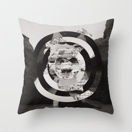 Algarve in Circles Throw Pillow