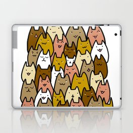 A cat lady's soul (normal) Laptop & iPad Skin