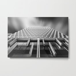 Sunshades Patterns, Light, and Shadow. Metal Print