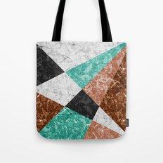 Marble Geometric Background G434 Tote Bag