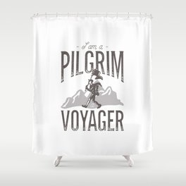 In Exile Shower Curtain