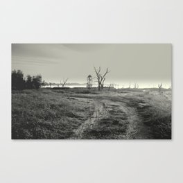 Exploring & Adventure in a 4 WD Canvas Print