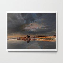 Assatueague Island Bridge Metal Print