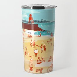 Afternoon on the Beach Travel Mug
