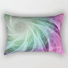 Whirlpool Diamond 2 Computer Art Rectangular Pillow