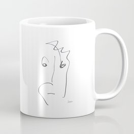 Demeter Moji d14 4-4 w Coffee Mug