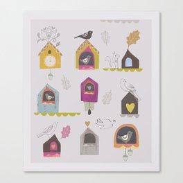 Cuckoo Clock Canvas Print