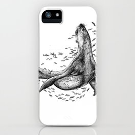 Seal and Fish iPhone Case