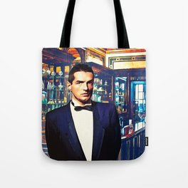 Falco at the Cafe Tote Bag