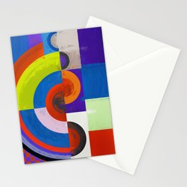 Abstract Composition 458 Stationery Cards
