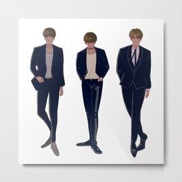 BTS BBMAS Metal Print
