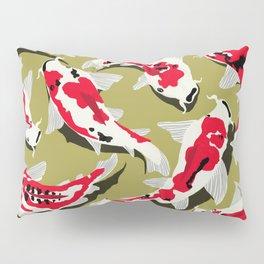 Koi Carp Zen Pillow Sham
