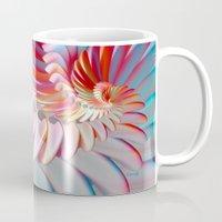angel wings Mugs featuring Angel Wings by ArtPrints