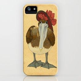 Plumpkin Ploshkin Pelican Jill iPhone Case