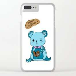 Kookie and Friends Clear iPhone Case