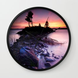 Separation Point Wall Clock